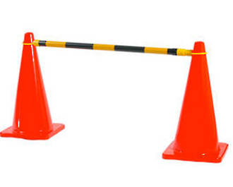 Extendable Cone Barrier Bar - 1.2 - 2.1m