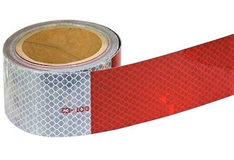 DOT-C2 Red/White Conspicuity Tape
