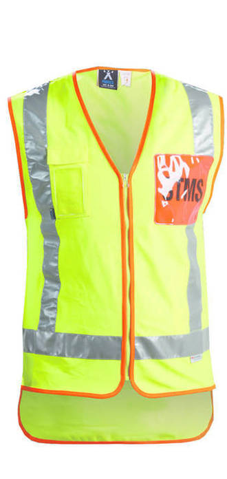 STMS Hi Vis Safety Vest, TTMC Approved
