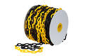 Plastic Safety Chain, Yellow/black