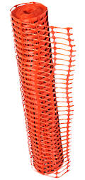 Temporary Plastic Mesh Safety Fencing