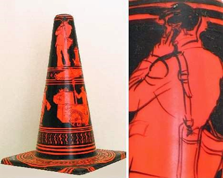 road cone artwork 2-123