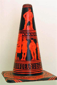 road cone artwork 3-900